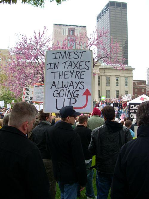 Taxes Up